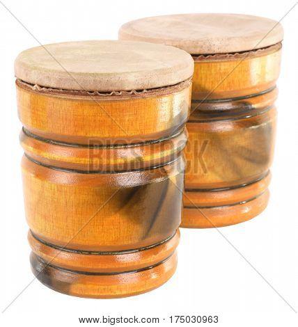 Bongos double drum
