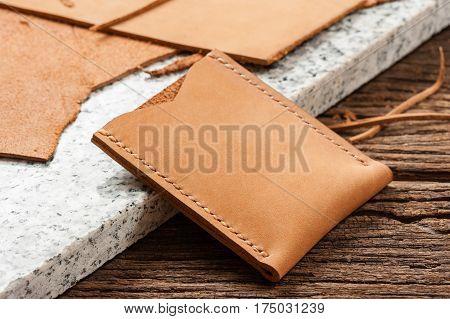 Brown Nubuck Leather