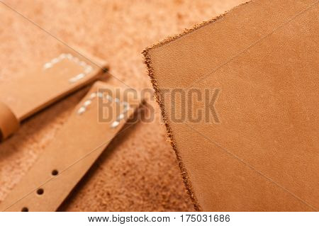 Brown Nubuck Leather