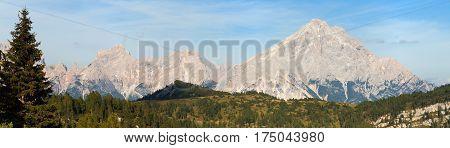 Monte Antelao South Tirol Alps Dolomites mountains Italy
