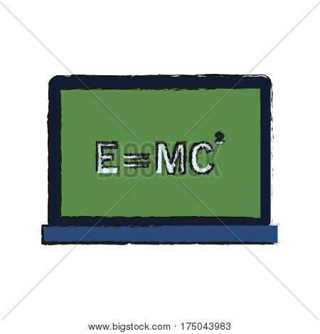 relativity theory equation math icon image vector illustration design