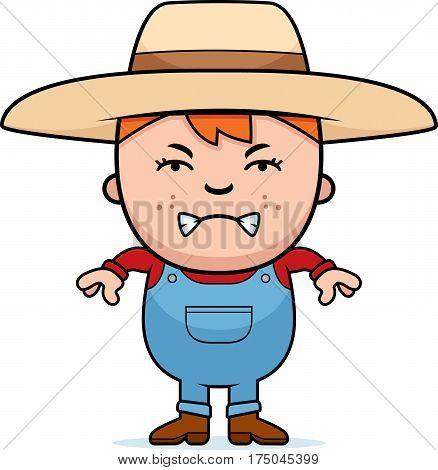Angry Farmer Boy