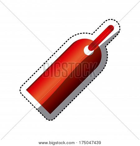 color tag sign icon, vector illustraction design image