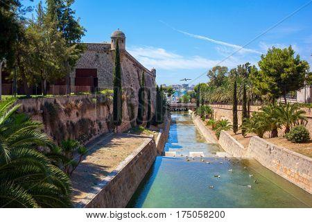 View of Mallorca city