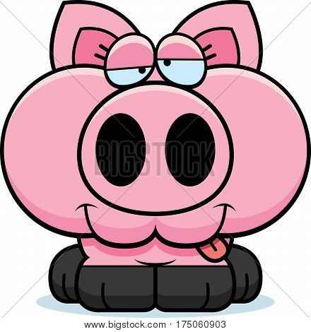 Cartoon Goofy Pig