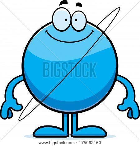 Happy Cartoon Uranus