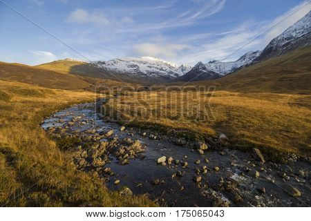 Fairy Pools, Isle of Skye, Scottish Highlands