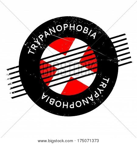 Trypanophobia fear Of Needles rubber stamp. Grunge design with dust scratches. Effects can be easily removed for a clean, crisp look. Color is easily changed.