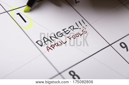 Danger!!! April Fools