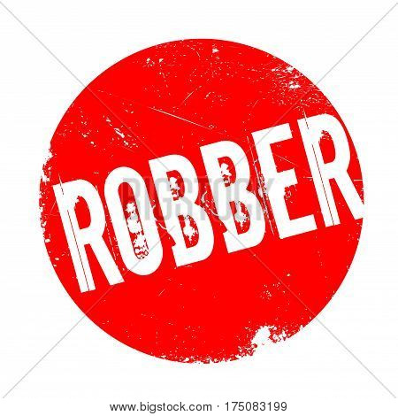 Robber rubber stamp. Grunge design with dust scratches. Effects can be easily removed for a clean, crisp look. Color is easily changed.