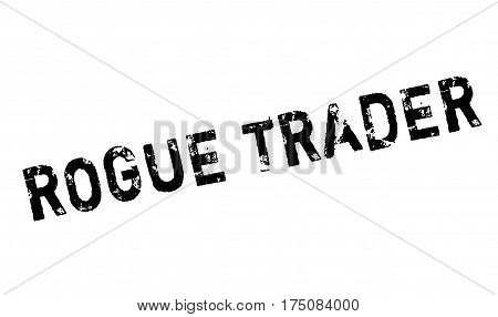 Rogue Trader rubber stamp. Grunge design with dust scratches. Effects can be easily removed for a clean, crisp look. Color is easily changed.