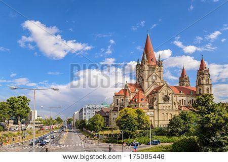 Saint Francis of Assisi Church, Vienna, Austria