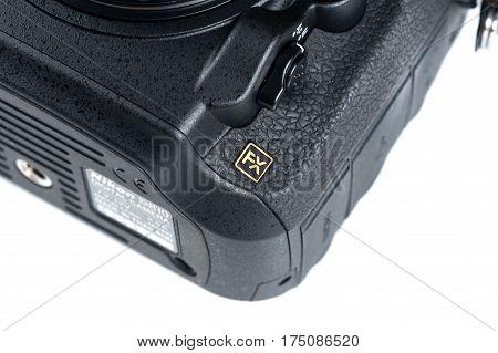 Fx Logo On Nikon Camera