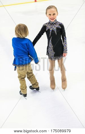 Young Figure Skaters