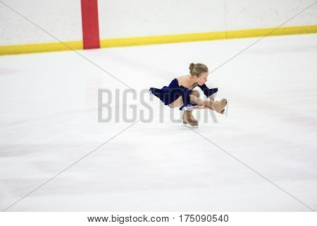 Young Figure Skater