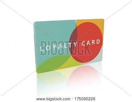 modern design for a loyalty scheme, 3d render