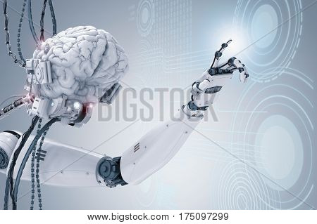 Cyborg Brain Working