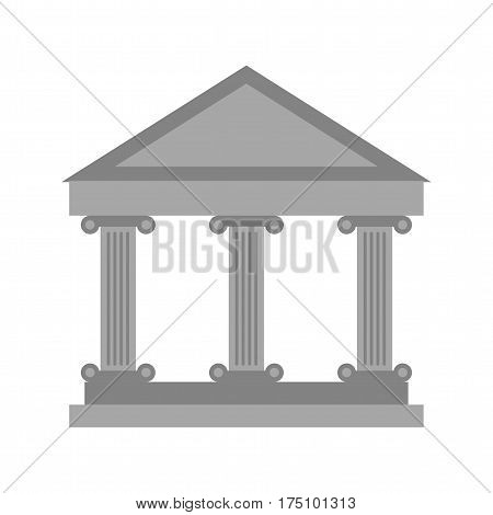 Museum, building, old icon vector image. Can also be used for museum. Suitable for mobile apps, web apps and print media.