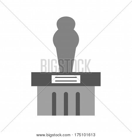 Museum, ancient, monument icon vector image. Can also be used for museum. Suitable for mobile apps, web apps and print media.