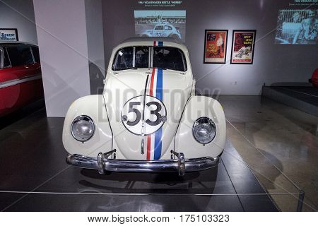 Love Bug 1963 Volkswagen Beetle Herbie