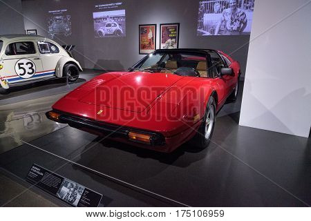 Red 1982 Ferrari 308 Gtsi