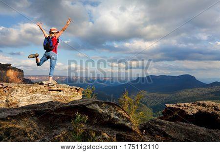 Happy Woman Feeling Elation, Joy, Success, Accomplishment