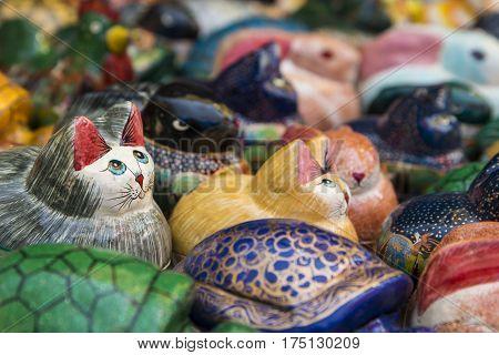Cat Porcelain Doll