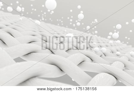 Fabric With Particles