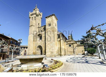 church of the Savior Ejea de los Caballeros Saragossa Spain