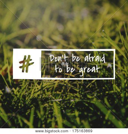 Find Yourself Ahead Goal Great Afraid Aspiration