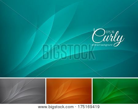 curly abstract background. Suitable for your design element and web background