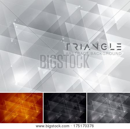 Triangle abstract background suitable for design element and web background