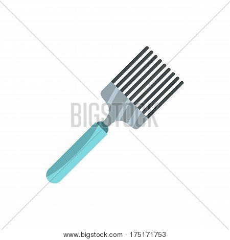 Kitchen spatula icon in flat style isolated on white background vector illustration