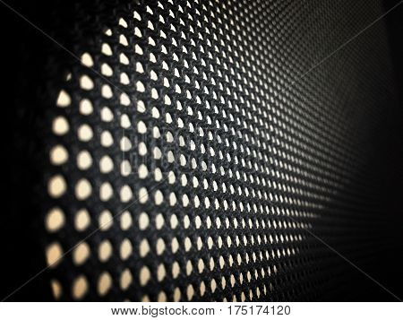 High resolution net concept perforated pattern texture mesh background