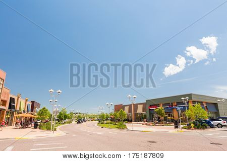 Outdoor Shopping Center
