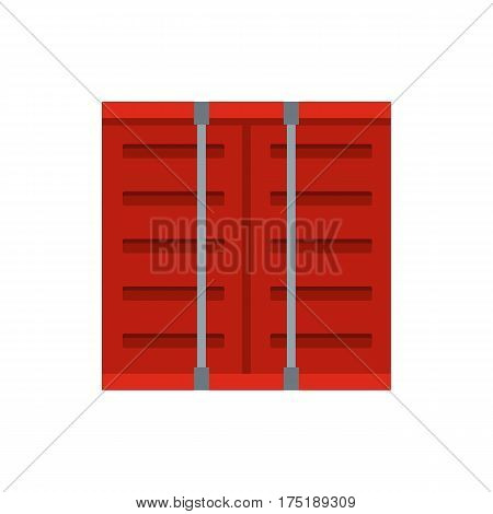 Jalousie icon in flat style isolated on white background vector illustration
