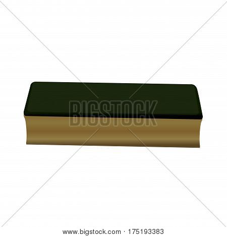 Isolated Chalkboard Eraser