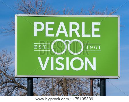 Pearle Vision Exterior Sign And Logo