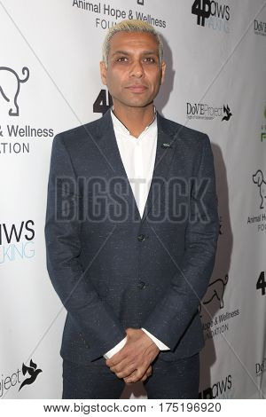 LOS ANGELES - MAR 4:  Tony Kanal at the Animal Hope And Wellness Foundation's 1st Annual Gratitude Gala at the W Hollywood on March 4, 2017 in Los Angeles, CA