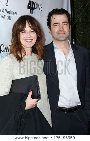 LOS ANGELES - MAR 4:  Rosemarie DeWitt, Ron Livingston at the Animal Hope And Wellness Foundation's 1st Annual Gratitude Gala at the W Hollywood on March 4, 2017 in Los Angeles, CA
