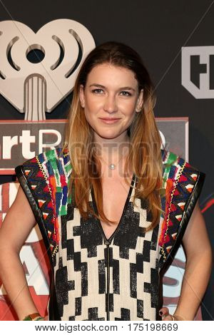 LOS ANGELES - MAR 5:  Nathalia Ramos at the 2017 iHeart Music Awards at Forum on March 5, 2017 in Los Angeles, CA