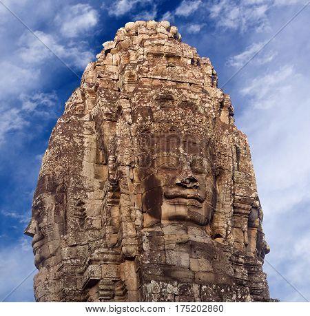Prasat Bayon Temple, Angkor, Cambodia