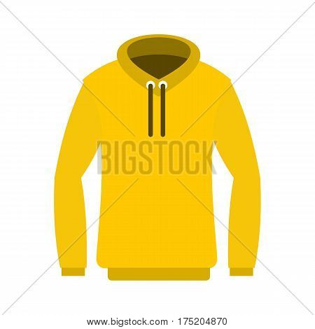 Hoody icon in flat style isolated on white background vector illustration