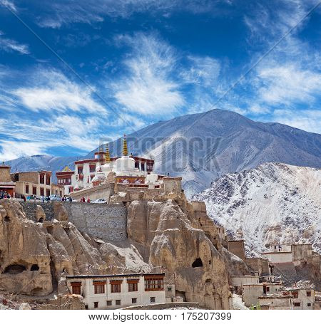 Lamayuru Monastery In Ladakh, North India