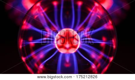 Abstract Photo Of Electric Waves.