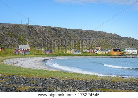 National Tourist Route from Vardø to Hamningberg in Finnmark, Northern Norway
