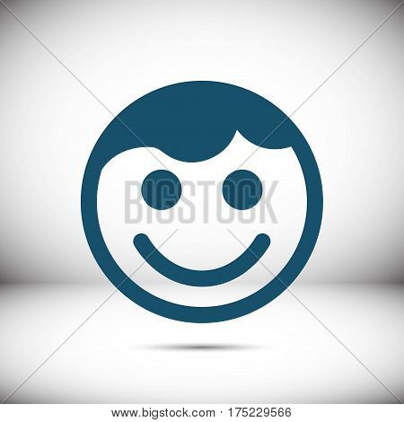 waiter icon stock vector illustration flat design