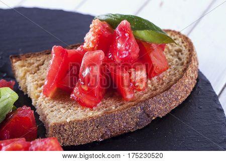 Bruschetta With Tomatoes
