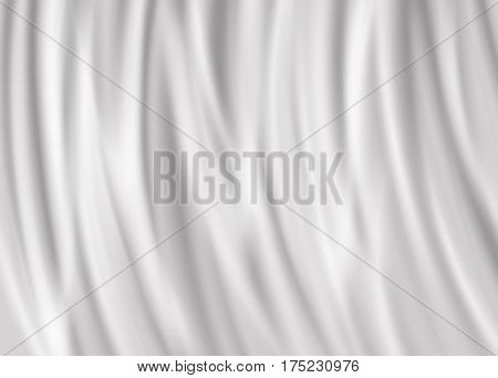 Realistic vector milk or yogurt waves background illustration