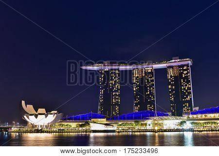 Marina Bay Landmark Of Singapore
